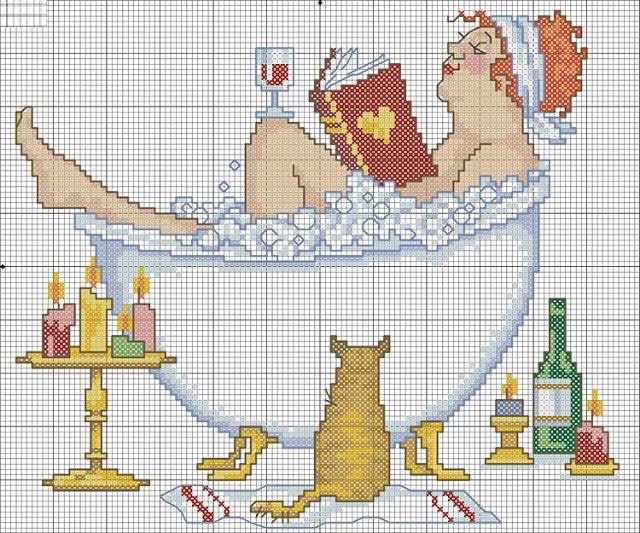Embroidery walkthrough: Risk cross stitch