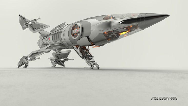 future rocket ship - 734×413