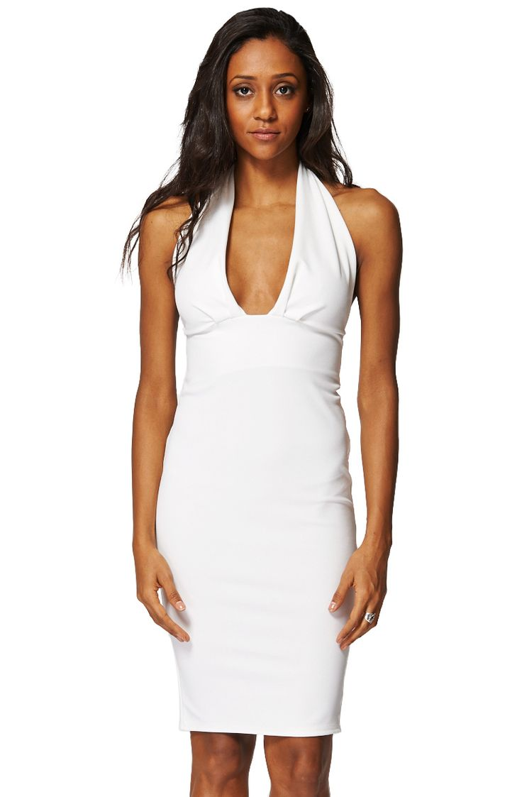 ScottyDirect - Open Back Plunge Front Bodycon Dress, $59.95 (http://www.scottydirect.com/open-back-plunge-front-bodycon-dress/)