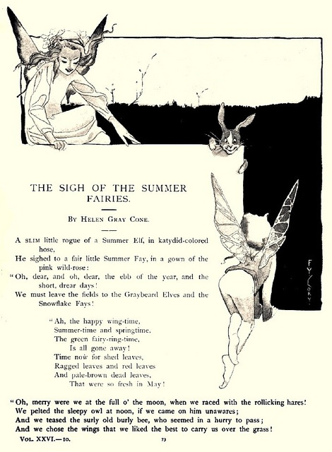 """The Sigh of the Summer Fairies"" - Fanny Y. Cory by docarelle, via Flickr"
