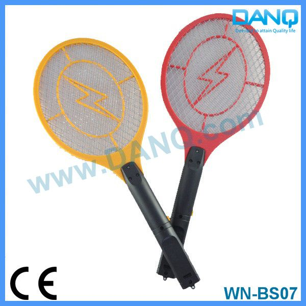 Three layers mosquito trap, bug zapper, mosquito swatter, mosquito racket with CE-EMC