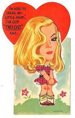 Veronica Lake, movie star... ️Vintage 1940s Valentine.