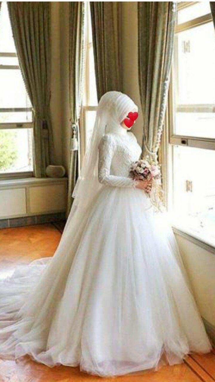 Hijab Wedding Dresses - #Dresses #hijab #wedding  Wedding dress