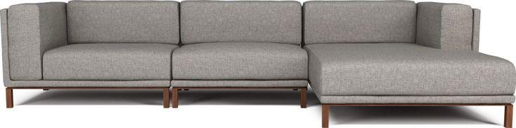 Kampinė sofa COZY | Domus galerija