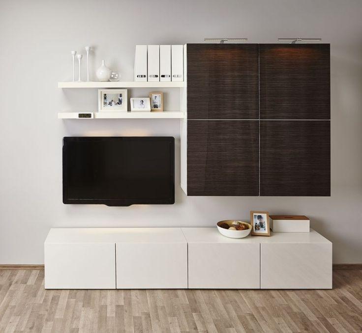 ikea besta regal je nach geschmack mit anderem mobiliar. Black Bedroom Furniture Sets. Home Design Ideas