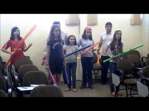 Boomwhackers InThe Jungle - YouTube