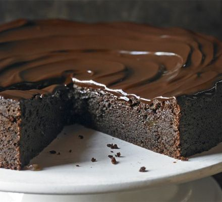 Chocolate & ginger torte. This decadent dessert with a triple-ginger hit is a chocoholic's dream