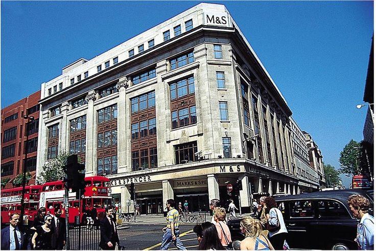 Marks and Spencer London England Pinterest