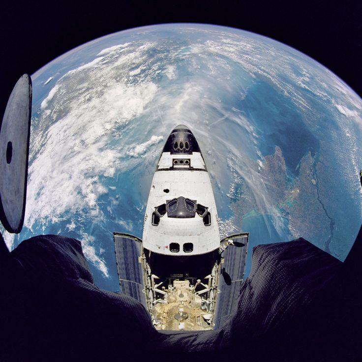Fish Eye View Of Atlantis NASA Free Download Borrow And Streaming Space PartyAir SpaceEarth