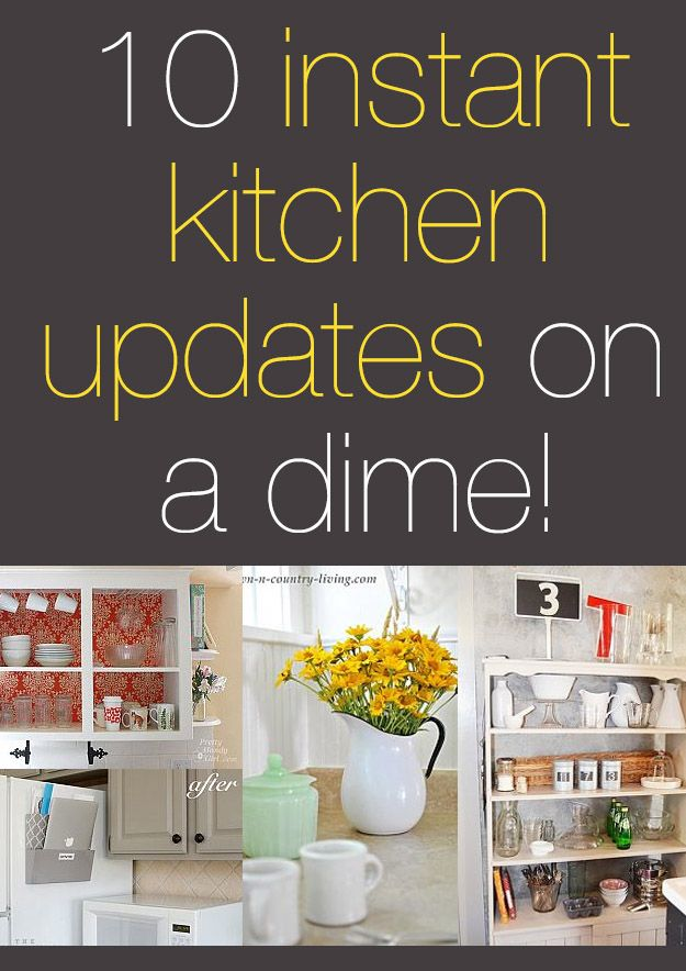 17 best images about kitchen ideas on pinterest skillets for Update my kitchen on a budget