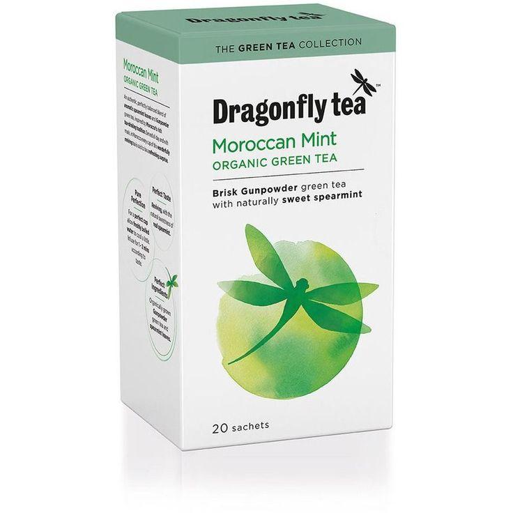 Dragonfly Organic Moroccan Mint Tea Bags 20'S 40g