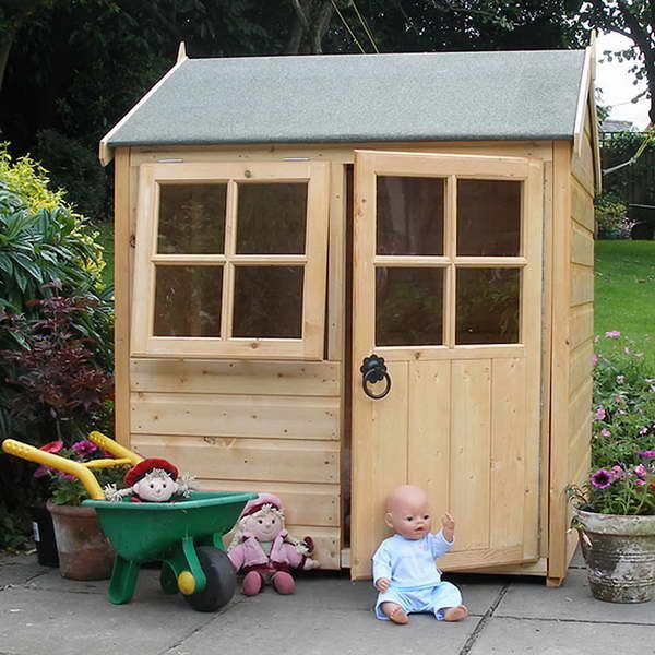 21 Best Images About Children S Wooden Playhouses On Pinterest