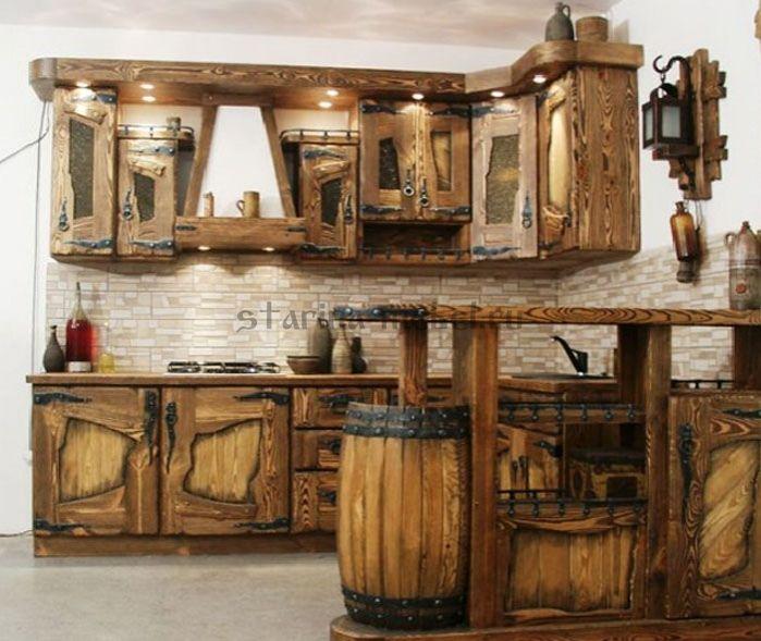 кухня под старину Арабика