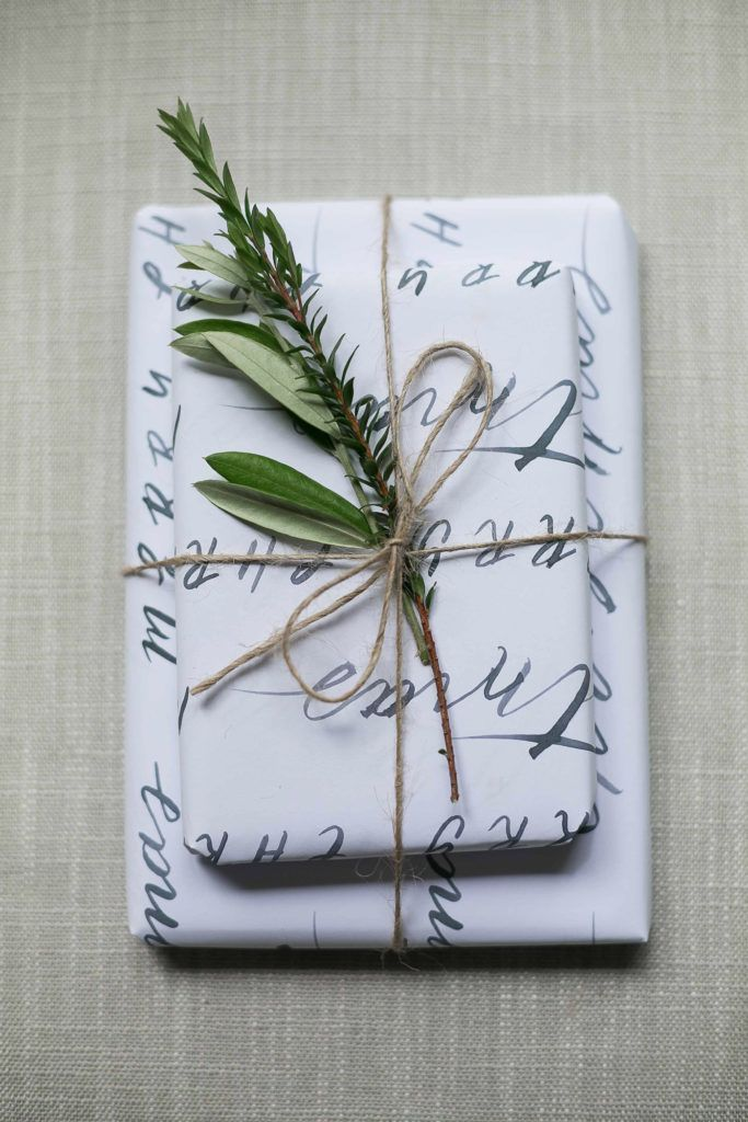 Free printable Christmas wrap.
