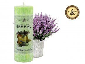 vonná svíčka Herbal - Venkovská levandule