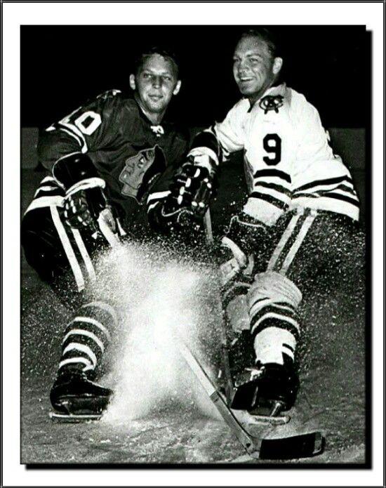 Dennis & Bobby Hull