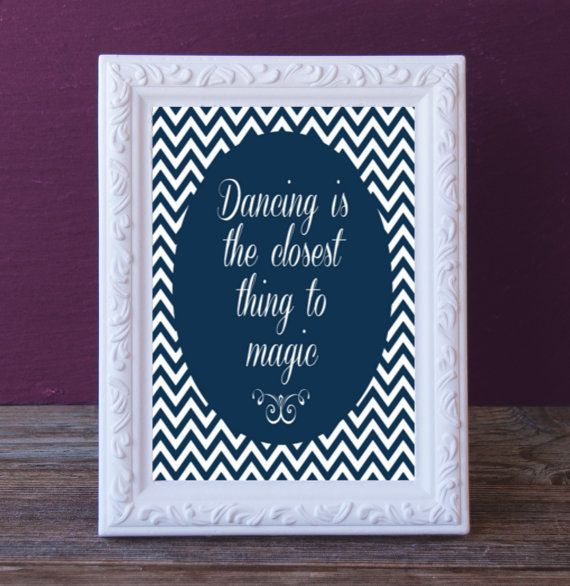 Printable Dance Gift - Dance Recital Present -Dance Digital Print - Dance Print Keepsake  - Gift for Dancer Printable - End of Year Present by DancinDarling