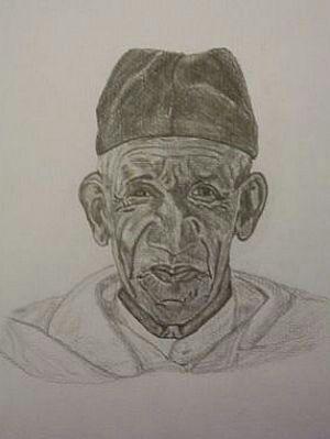 Portret Marokkaanse man