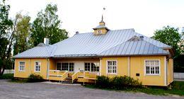 Alajärven Nuorisoseurantalo. ( Alvar Aalto 1919 )