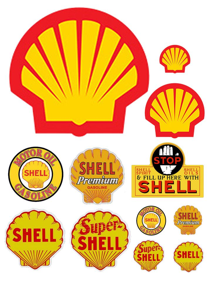 1:25 G scale model Shell Oil gasoline station gas signs
