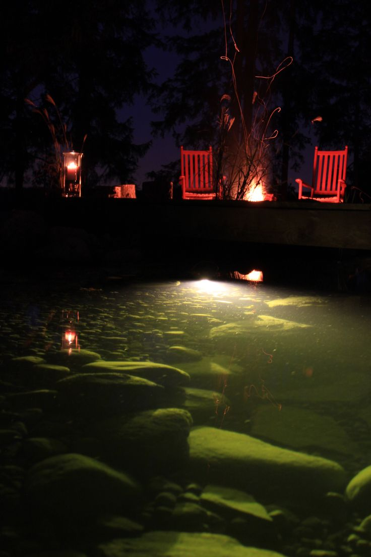 1000 Images About Lights In Ponds On Pinterest Gardens Night And Lowes