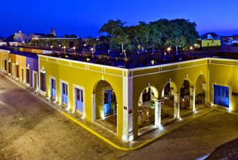 Hacienda Campeche Hotel, Yucatan Peninsula. This luxurious hotel is a gem flawlessly displaying a collection of restored 17th century historical houses.