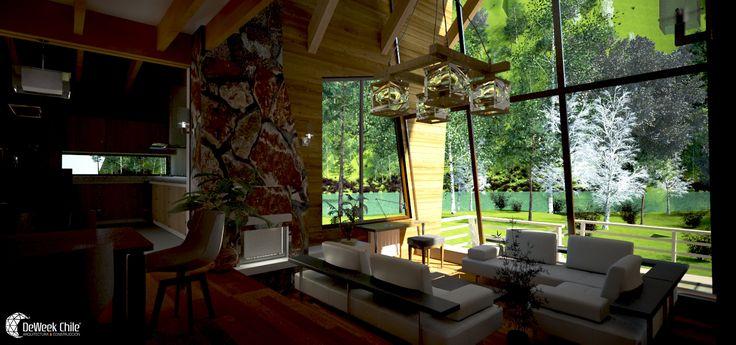 New project, #Lodge #Matapiojo, #Patagonia, #Deweek #Chile.