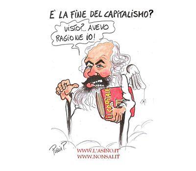 Marx versione fumetto