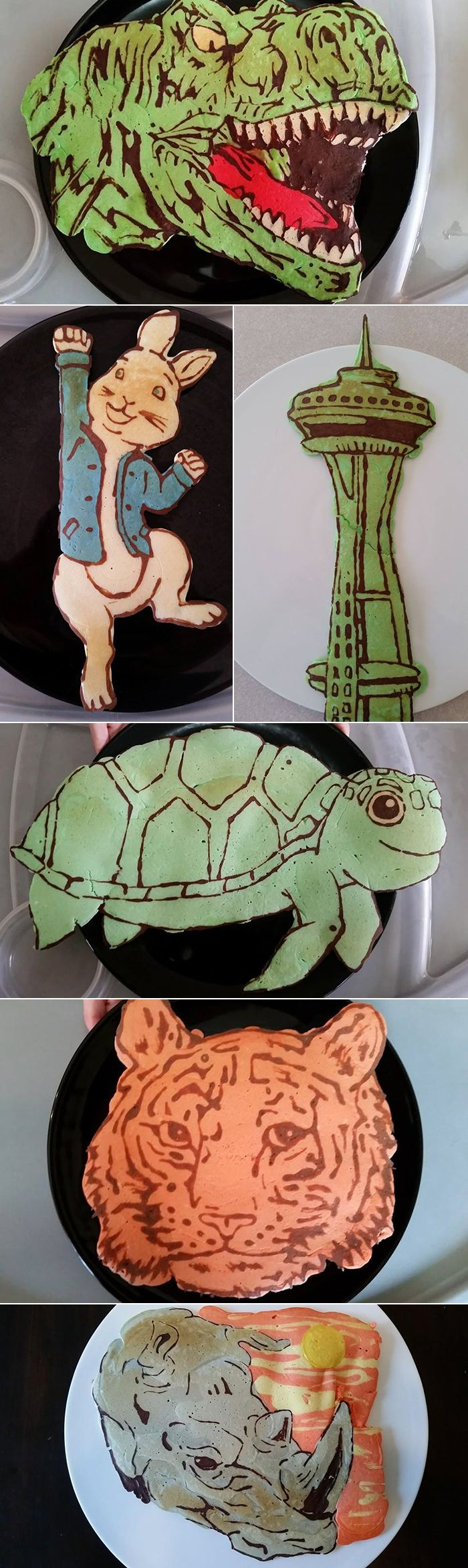 Amazing pancake art!