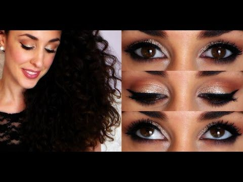 MakeUp Tutorial INVITATA a un MATRIMONIO ❤ Come aggiusto la chioma (riccia) in 5 minuti?! - YouTube