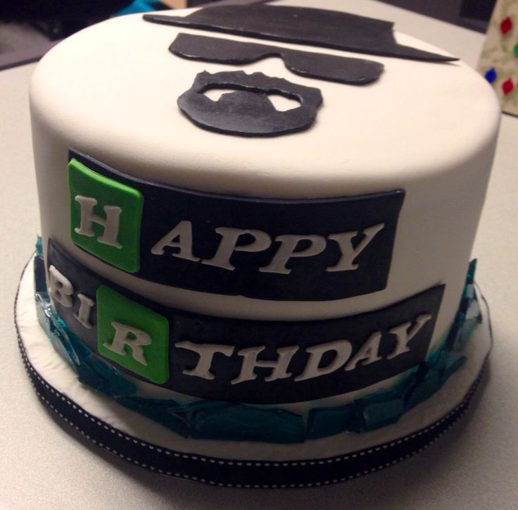Breaking bad cake! Heisenberg