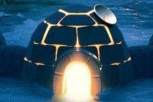 verso la casa di neve: l'igloo