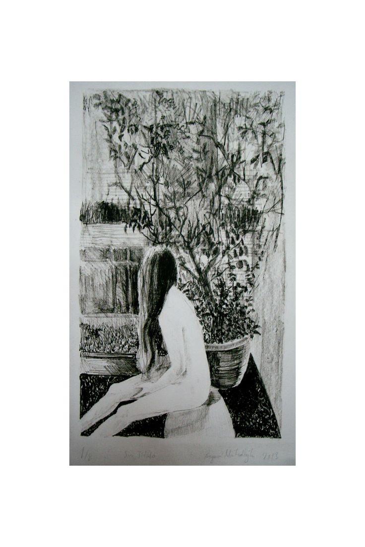 """""""İsimsiz"""", Litografi, 2013"""