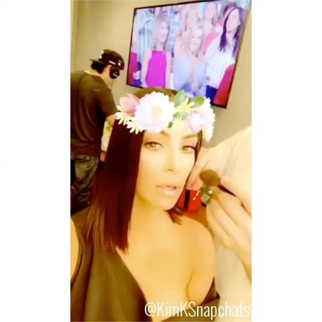 """883 Likes, 14 Comments - Kim Kardashian Snapchats (@kimksnapchats) on Instagram: """"Today on Ellen  #kim #kimkardashian #kimkardashianwest #kimksnapchat #kimksnapchats…"""""""