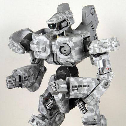 Este robot es una creación de un japonés llamado Shunici Machino, muy detallado y poco complicado de hacer. De todas maneras no parece indicado para alguien que desconozca el tema de hacer maquetas con papel y quiera comenzar, aunque hoy día está...