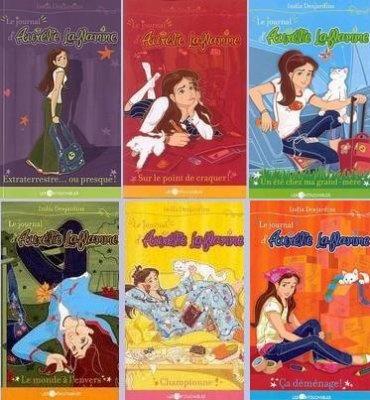 La série des Aurélie Laflamme, même si ce sont des livres pour ado... ;)