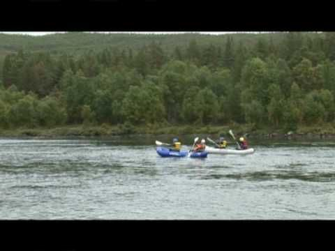 Family rafting! Easy and fun for the youngest in the family.