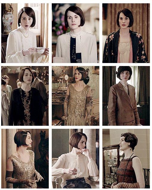 Mary Crawley in 6.04 ...