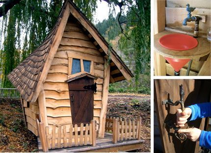 Building a Crooked Playhouse | APlaceImagined: Crooked Little House