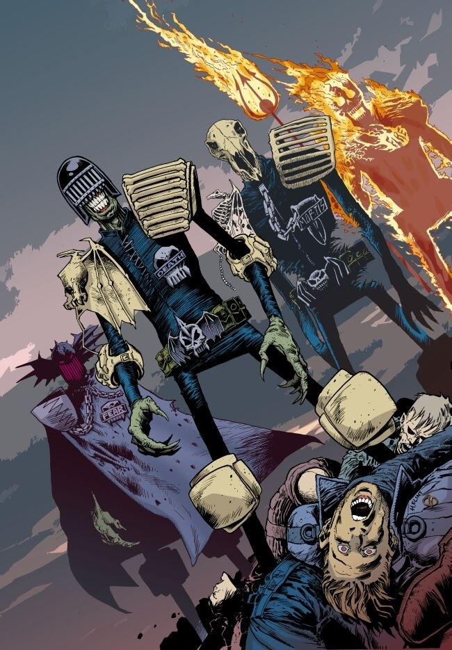 The Four Dark Judges