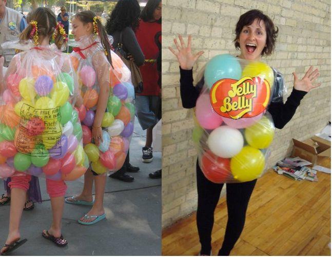 123 best halloween images on pinterest halloween ideas halloween easy and last minute homemade jelly bean costume solutioingenieria Choice Image