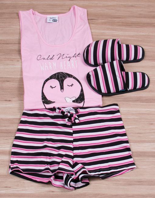 Modelo  JMS0124 Pijama Mujer Woman Sleepwear
