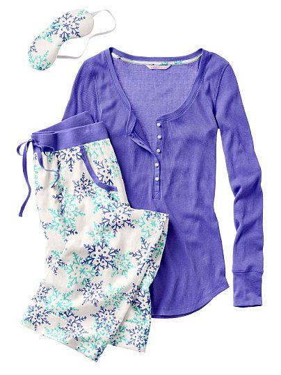 The Dreamer Henley Pajama Victoria's Secret