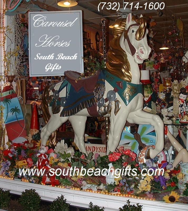 40 best carousel horse centerpieces table decorations hand for Amusement park decoration ideas