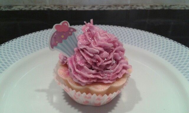 Soap cup cake