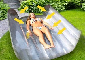 Luminous Envy Tanning Float; I so want to order this! Super cool!