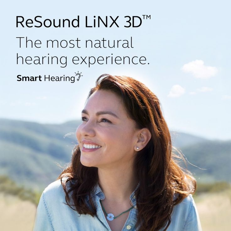 ReSound LiNX 3D The most natural hearing experience.