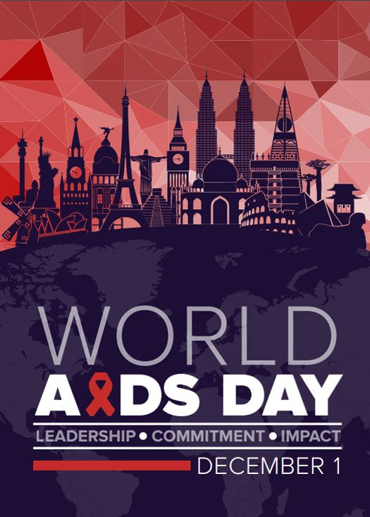 CDC World AIDS Day. Leadership. Commitment. Impact.
