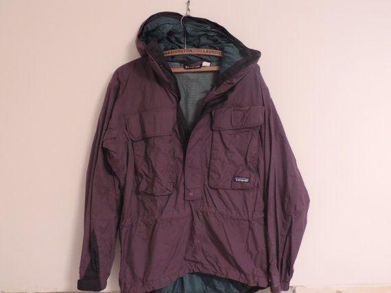 Vintage Patagonia Jacket Purple Patagonia by used2bnewVintage