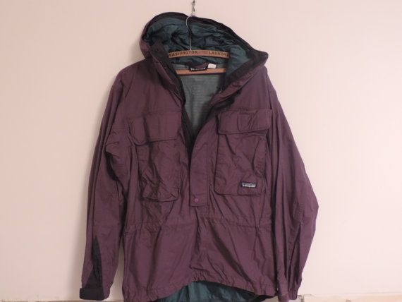Vintage Patagonia Jacket Purple Patagonia by used2bnewVintage
